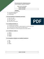 Pruebas Saber ELECTRONICA 2015-2