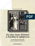 De Don Juan a Pachita