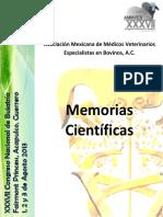 Memorias Congreso Buiatria XXXVll 2013