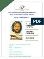 Fe Cristiana y Compromiso Pastoral Tarea 3