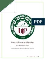 Portafolio de Evidencias Electronica Analogica