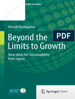 Beyond the Limits to Growth - New Ideas for Sustainability From Japan