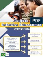 Apresentação Projeto Robótica Educacional Modelix - Combo 8 TK-1