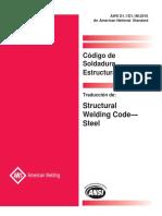 D1.1 - 2010 Codigo Soldadura Estructural - Acero-ESPAÑOL
