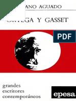 Aguado, Emiliano - Ortega y Gasset