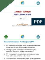 3.1.1 Rambu-Rambu Penyusunan RPP baru