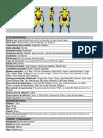 Datos Biograficos Wolverine