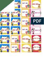 Jadual kelas pml