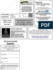 course guide template env  science