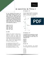 1ª Lista de Exercícios de Física 2