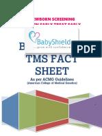 Babyshield TMS Fact Sheet