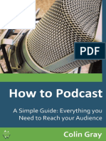 How to Podcast a Simple Guide