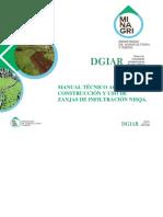 MANUAL TÉCNICO AGRARIO N° 3 CONSTRUCCION Y USO DE ZANJAS DE INFILTRACION ESP-QUECHUA