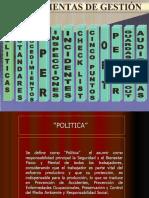 98765903 Herramientas de Gestion de Seguridad Politicas