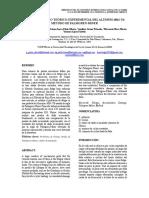 Artículo Prueba Fatiga ALUMNIO 6061-T6