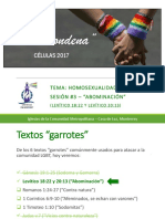 Homosexualidad y Biblia - Sesión #3 - Levítico
