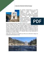 Algunos Sitios históricos de Huehuetenango