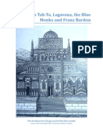 Mahum Tah-Ta, Lagavana, the Blue Monks and Franz Bardon