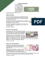 Clases de Monedas