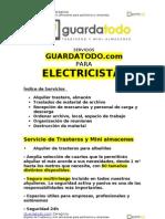 Servicio de Alquiler de trasteros para Electricistas