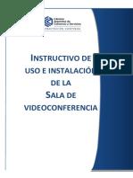 Instructivo Instalacion y Utilizacion de Sala Videoconferencia