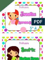 Cartel de Profra de Grupo