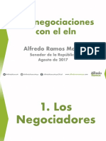 Negociaciones ELN - Alfredo Ramos