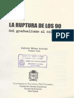 La Ruptura de Los 90- 1