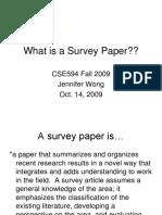Survey Paper