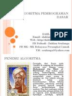 P6 Algoritma Dasar
