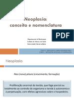 Neoplasia - Conceito e Nomenclatura
