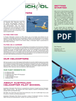 Australian Helicopter Pilot School - Information Pack