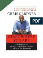 Comienza Donde Estas Chris Gardner PDF