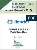 Informe de Monitoreo Ambiental (Primer Semestre 2017)