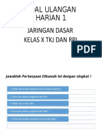 SOAL ULANGAN HARIAN 1.ppt