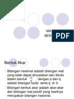 bentuk akar (kelompok 9).ppt