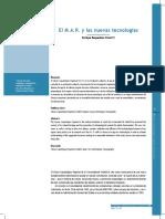 BAQUEDANO PÉREZ, E. 2005. El M.a.R. y Las Nuevas Tecnologías