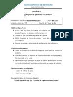 Modulo 6 AF 3 Plan y Programa Generales de Auditoria