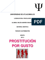 Prostitución por gusto