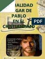 1 Actualidad y Lugar de Pablo en El Cristianismo