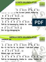 Ungkup 166 - Hattala Sinta Kalunen Jetoh(1)