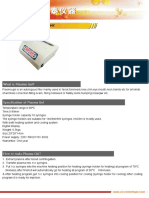 Brochure of Bio Filler Maker(Plasma Gel)