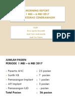 PKM Cendrawasih 1 Mei - 6 Mei 2017