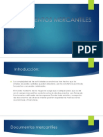 Presentación documentos mercantiles