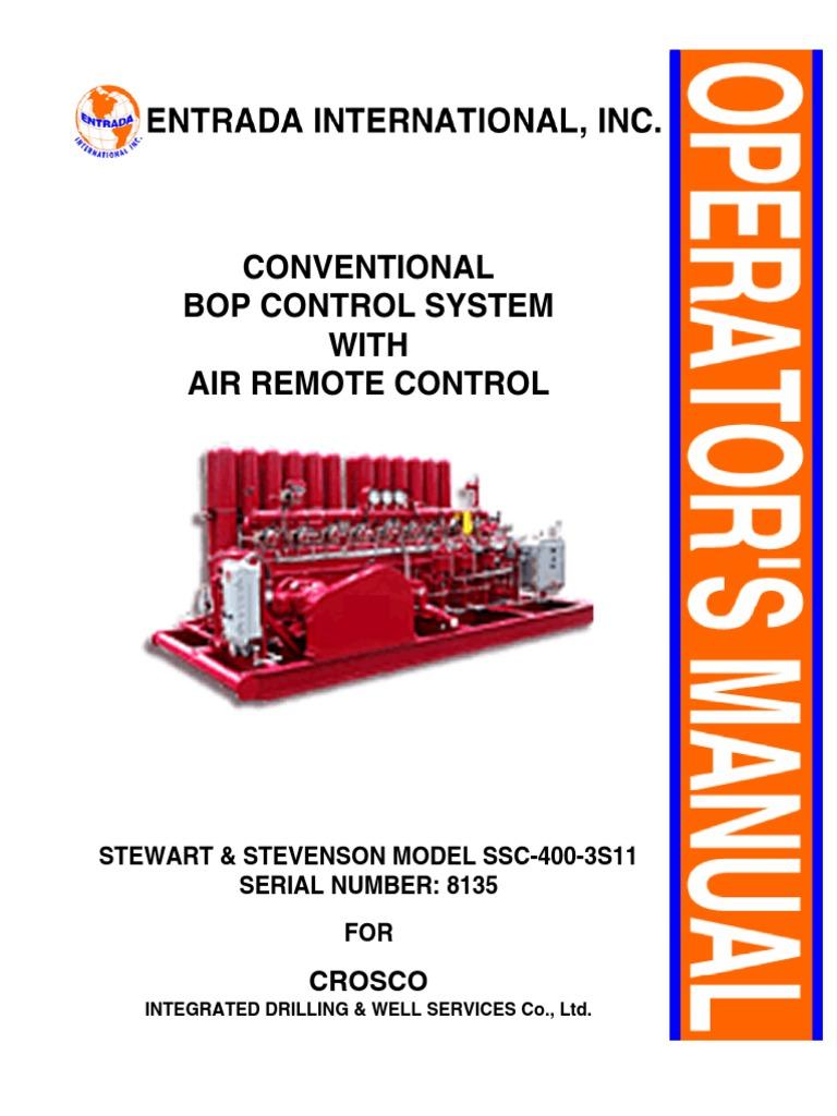183130028 koomey s s manual pdf pump valve rh es scribd com Koomey Unit Components Koomey Parts