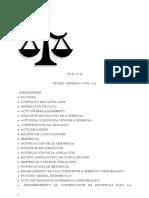 Teoria General de Derecho Civil