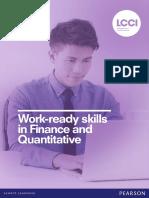 Lcci Finance Quantative Qualification Brochure