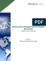 Aberdeen Performance Management for Finance Executives