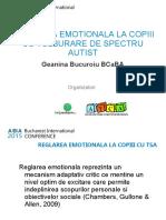 Geanina Bucuroiu Prezentare Conferinta 2015