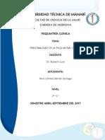 Psiquiatria Damian Vera 7c Personalidad